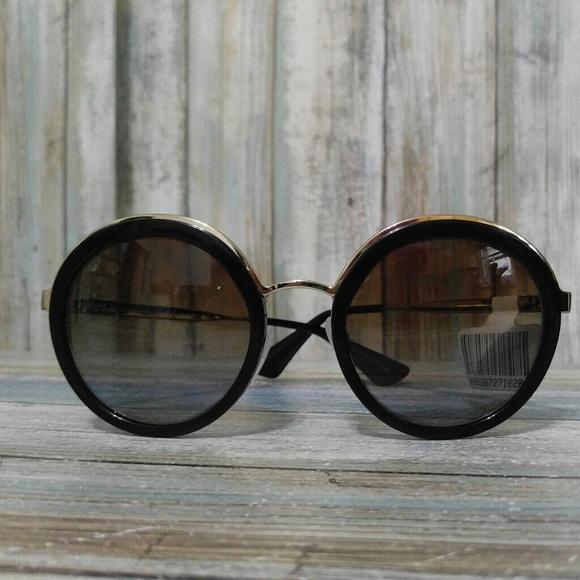 5b38f11d3e7cf New Prada PR50TS Round Polarized 😎 Sunglasses